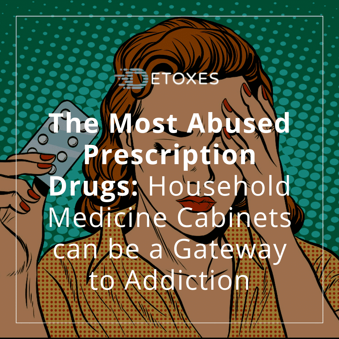 Prescription Drugs Abuse: Household Medicine Cabinets can be a Gateway to Addiction